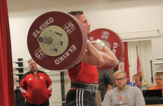 Matias Mukkala on Lapin ykkönen sarjassa 73 kiloa.